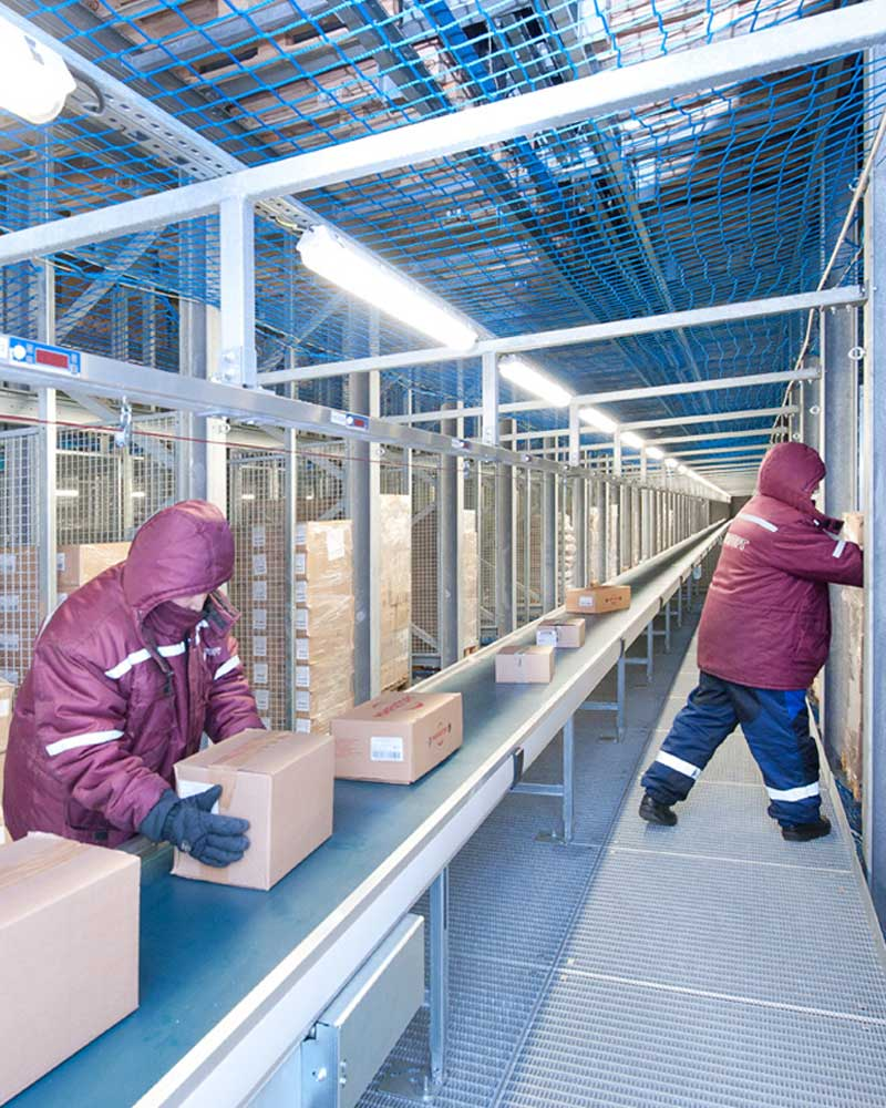 Cold Chain & Frozen Goods Solutions